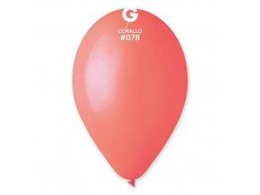 0004073 balonky 30 cm koralova cervena 100 ks