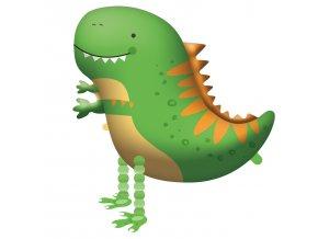 0016265 chodici balonek dinosaurus 75 cm
