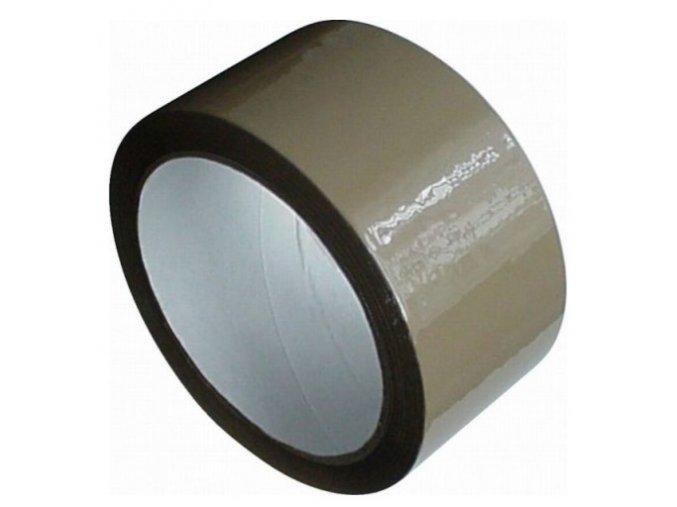 Lepící páska solventní, havana, 48mmx66m