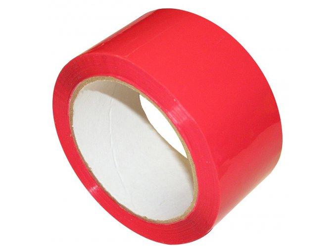 Lepící páska, červená, 48mmx66m