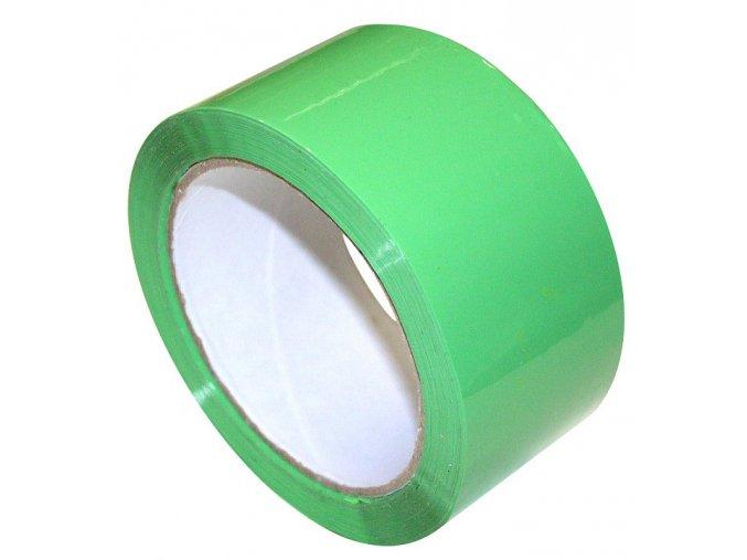 Lepící páska, zelená, 48mmx66m