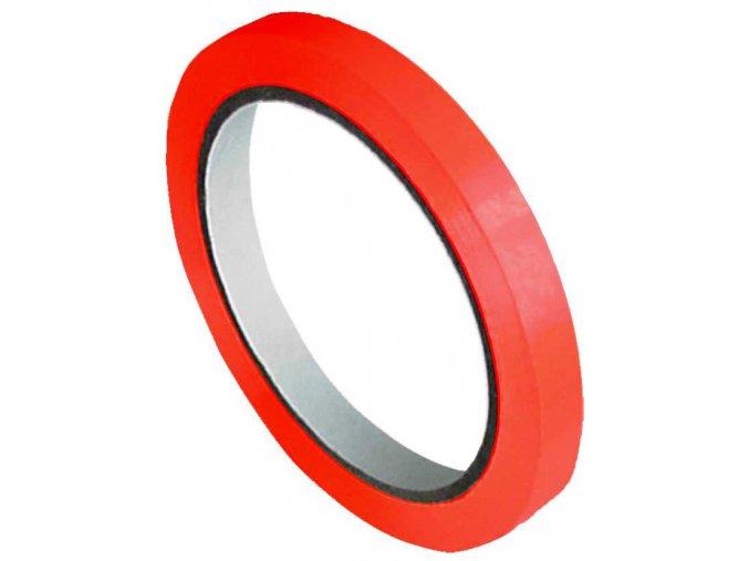 PVC lepicí páska solvent hnědočervená, 25mmx66m