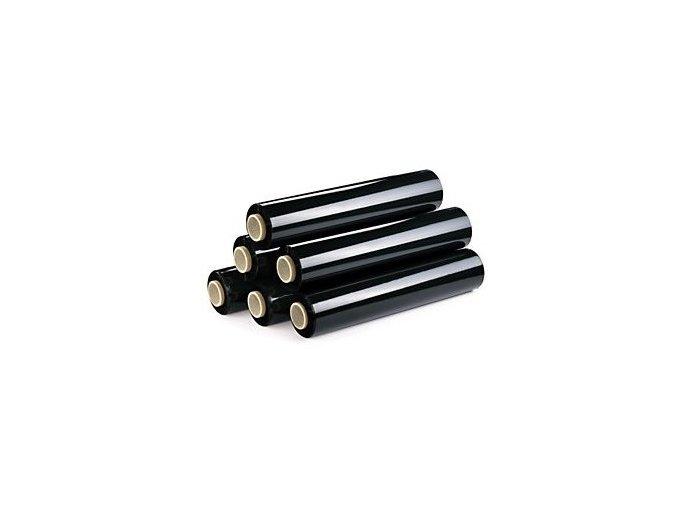 Stretch folie 500mmx1,9kgx120m, černá, akce