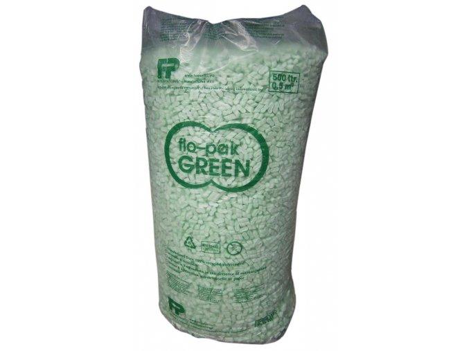 Flo-pak výplňový materiál, green, 500l