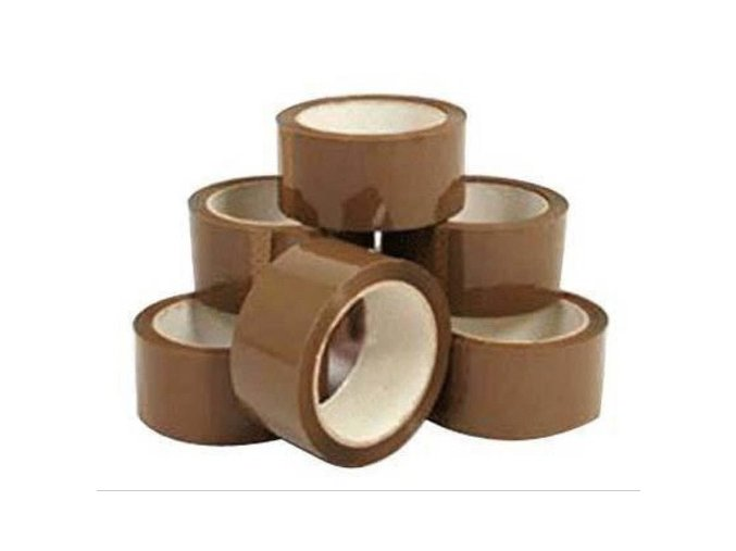 brown self adhesive tapes 338