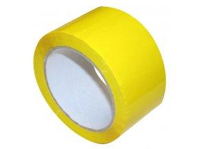 Lepící páska, žlutá, 48mmx66m