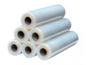 Stretch folie 500mmx1,9kgx120m, transparentní, akce