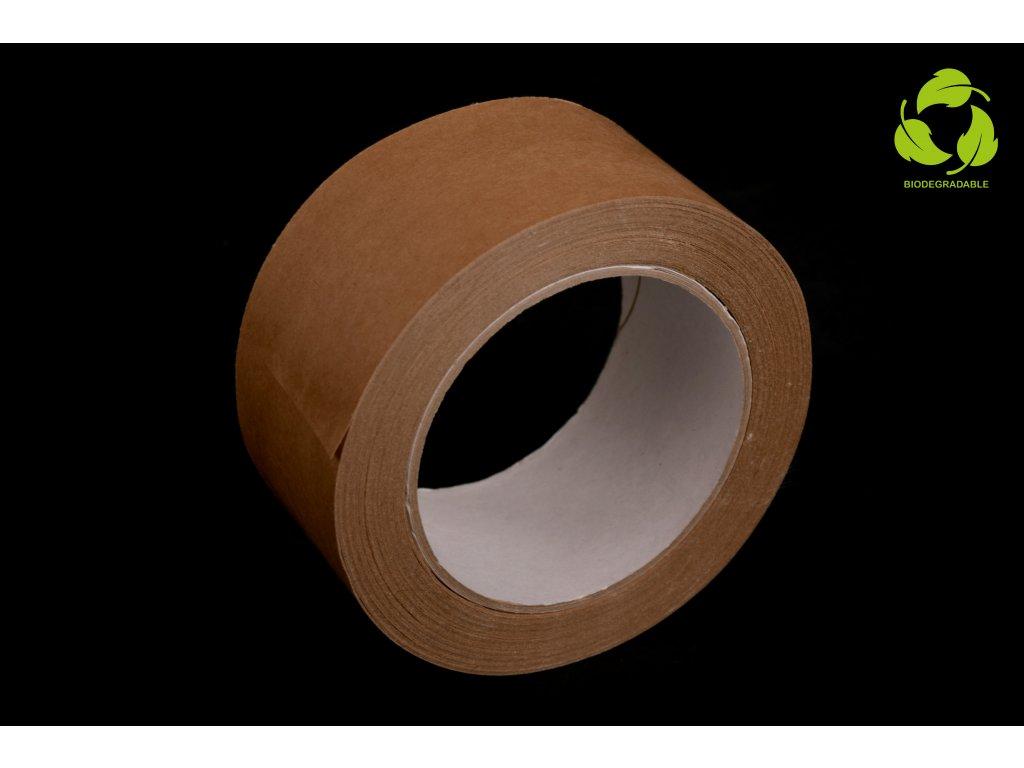 Ekologická lepící páska papírová 50 mm x 50 m - HOTMELT