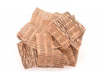 Kartónová vlna jednodruhová hnědá - KARTOFIX 30 kg Mřížka