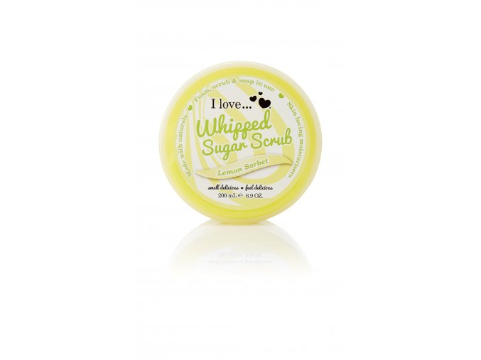WSS1F045ML whipped sugar scrub lemon standard