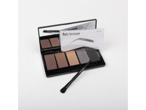 FAB Brows KIT PROFESIONAL 5 farieb