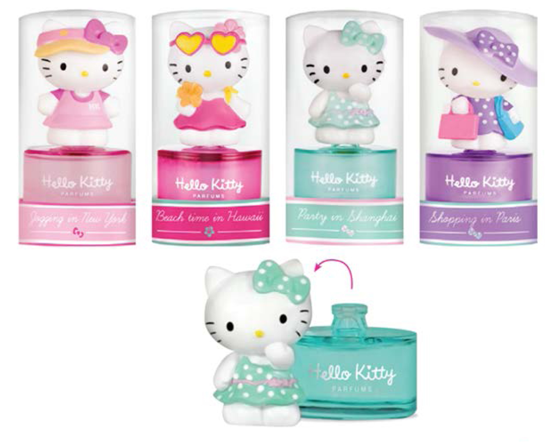 HELLO KITTY MINI PARFÚMY 8ml
