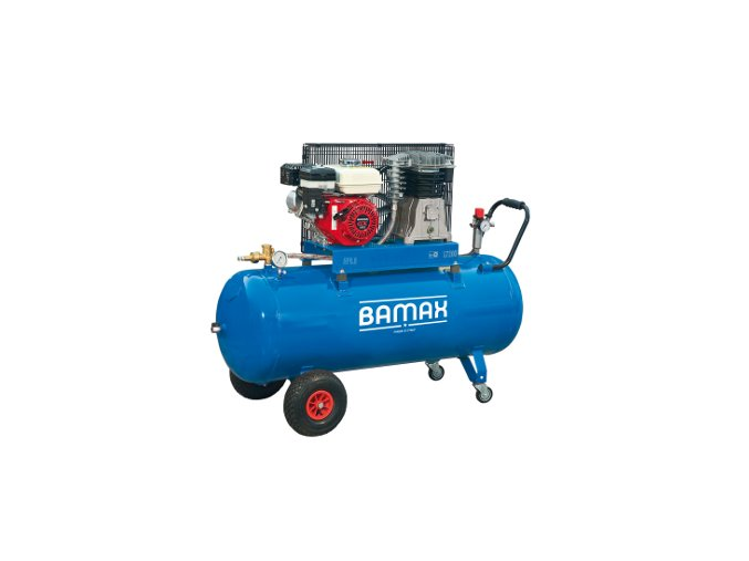 Kompresor BAMAX BX49G/100PE 5,5 s benzinovým motorem