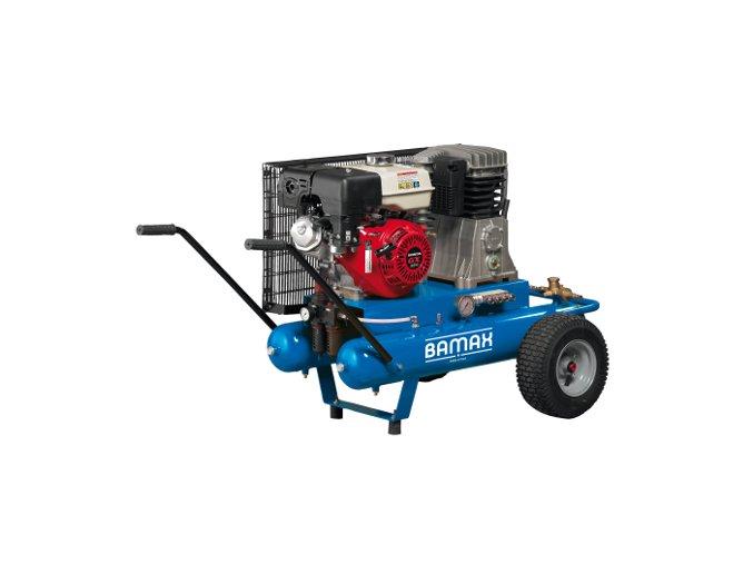 Kompresor BAMAX BX49G/22PE 5,5 s benzinovým motorem