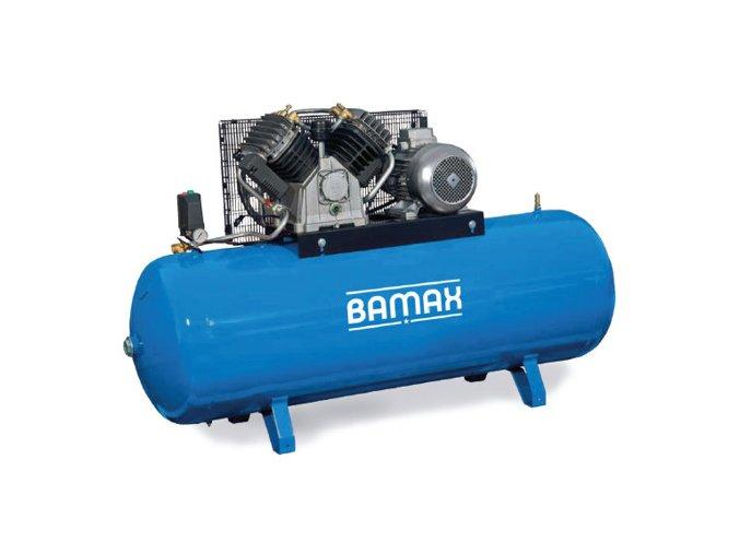 Stacionární pístový kompresor BAMAX BX80G/500FT15