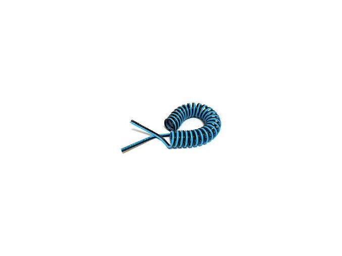 Dvojitá spirálová PU hadice 4/6 mm - 5m