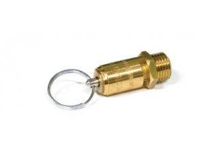 """Pojistný ventil na vzduch """"CE"""" - 1/4"""" (10 bar)"""