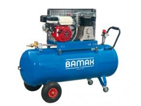 Kompresor BAMAX BX49G/200PE 5,5 s benzinovým motorem