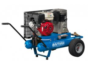 Kompresor BAMAX BX59G/34PE 9 s benzinovým motorem