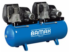 Stacionární kompresor Bamax Tandem BX70G/500T10