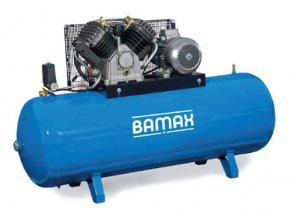 Stacionární pístový kompresor BAMAX BX80G/500FT15 SDS
