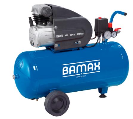 BAMAX BX230/50 olejový pístový kompresor 1,5kW