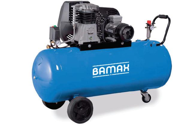 BAMAX BX49G/100CT4 olejový dvouválcový kompresor 3kW, 400V