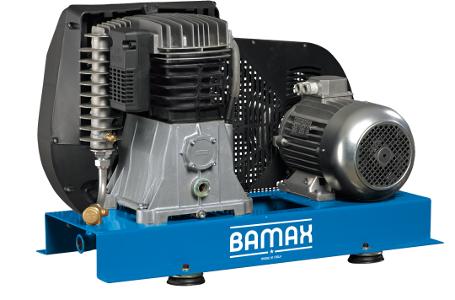 Bamax BX80G/BF15T Přídavný kompresor 11kW, 11bar
