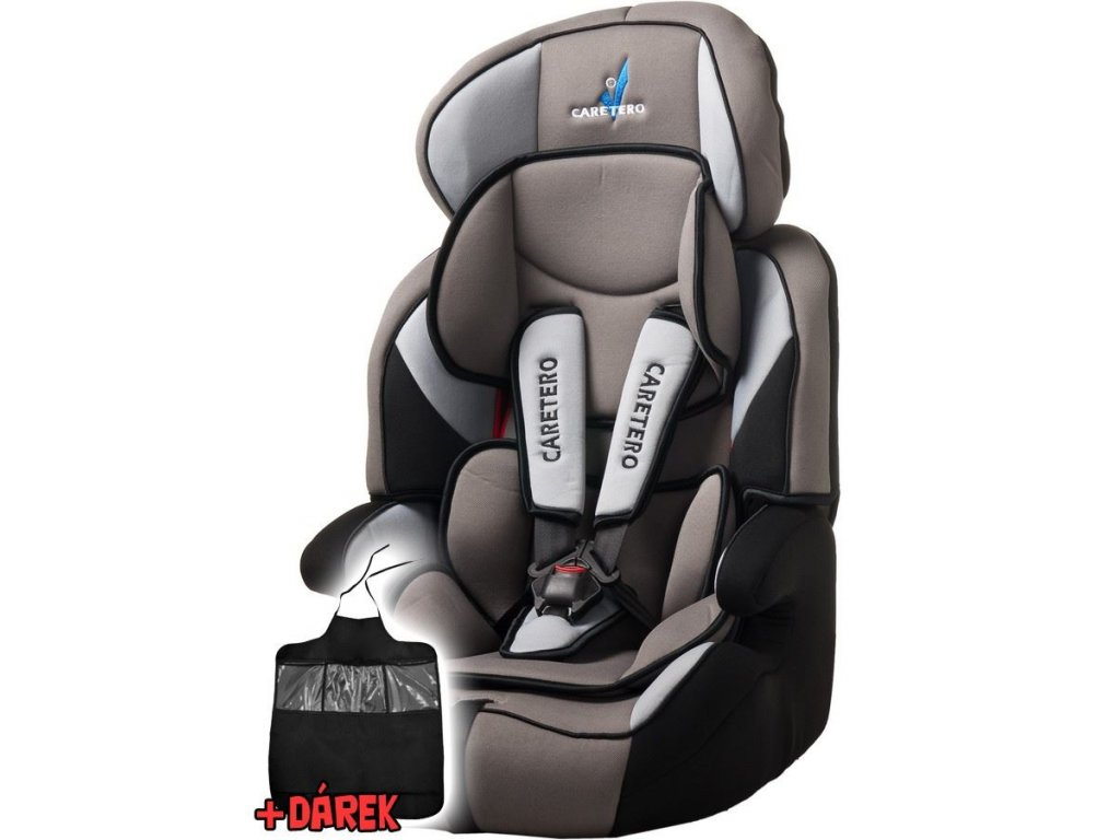 detska autosedacka caretero falcon new 9 36 dark grey