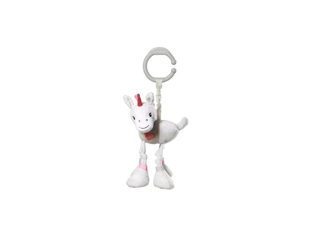 detska hracka na kocarek babyono s vibraci unicorn lucky