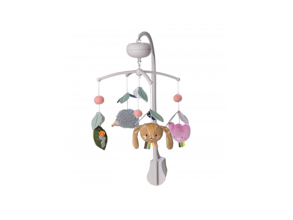 detsky kolotoc nad postylku taf toys s opickou marco