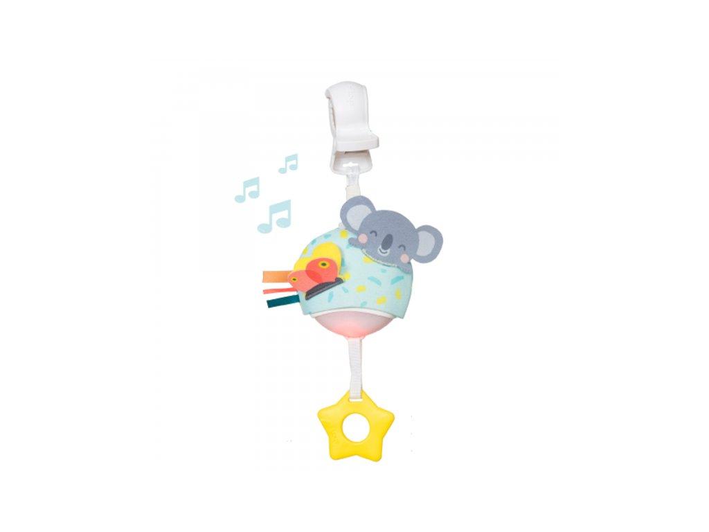 detska hracka na kocarek taf toys hudebni koala