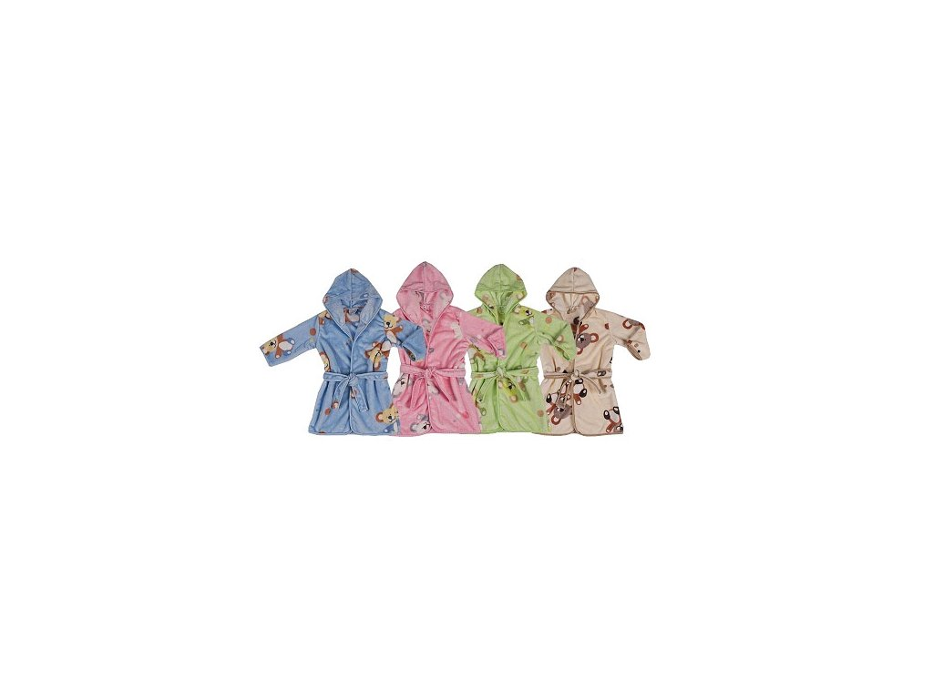 Dětský župan Duetbaby Velur 104-116