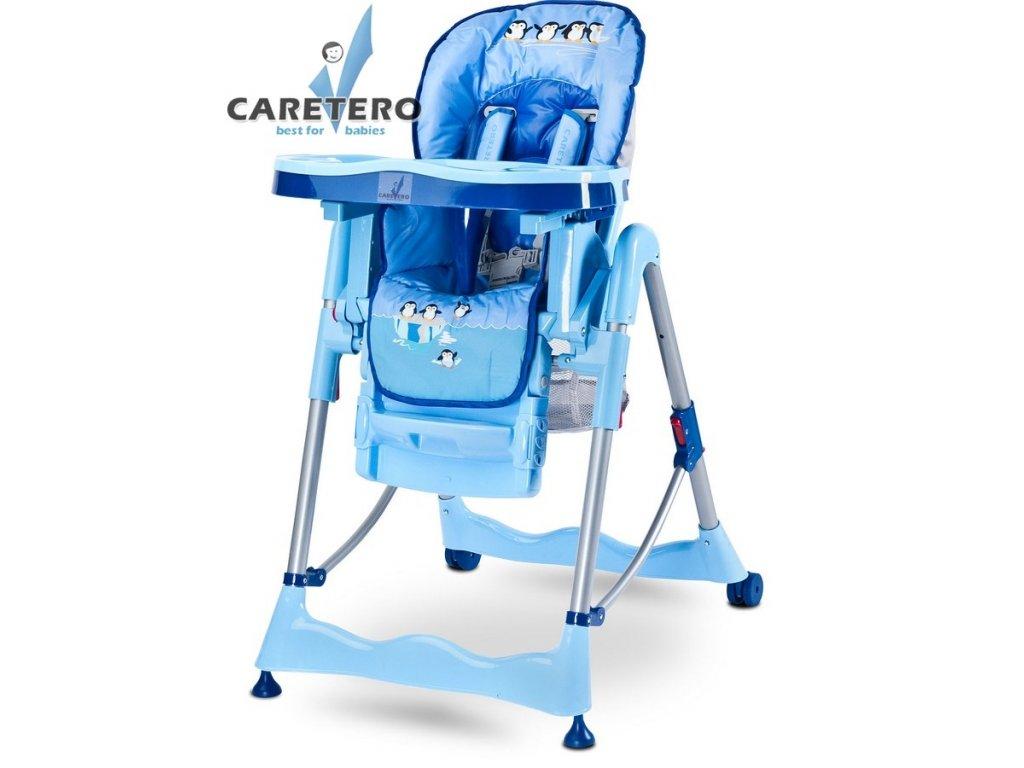 detska jidelni zidlicka caretero magnus fun blue