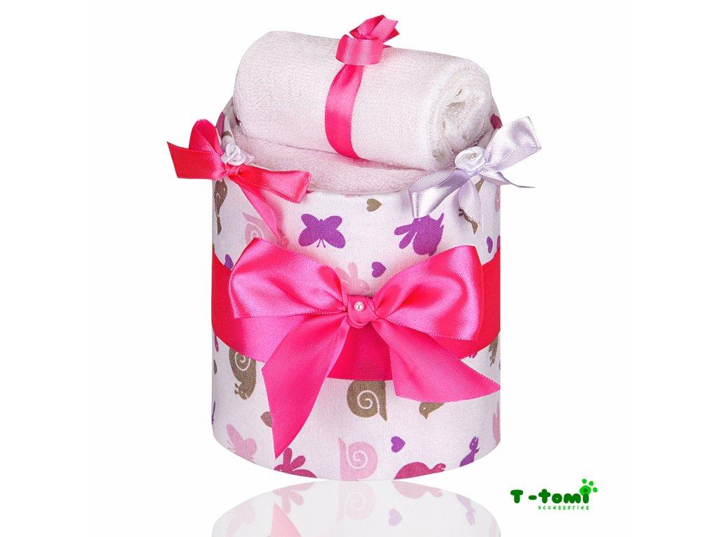 Plenkový dort T-Tomi Lux Šnek-malý