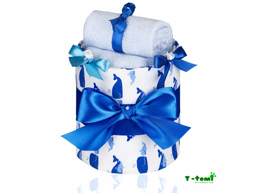 Plenkový dort T-Tomi Lux Velryba-malý