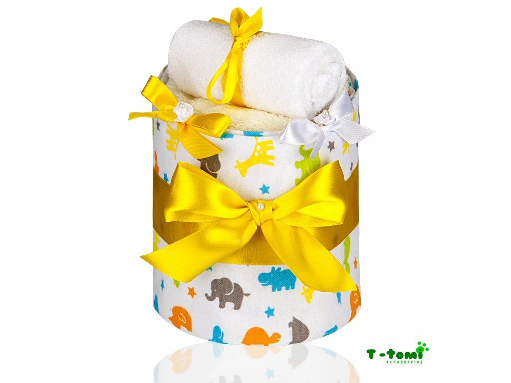 Plenkový dort T-Tomi Eco-Lux Žirafa-malý