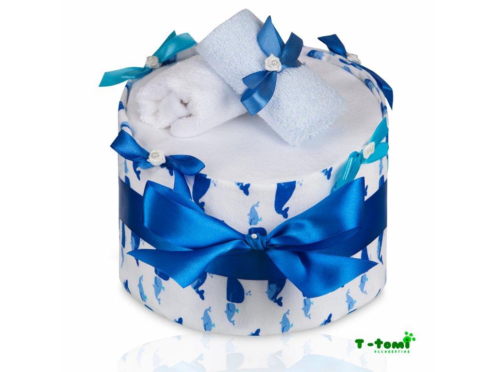 Plenkový dort T-Tomi Eco-Lux Velryba-velký