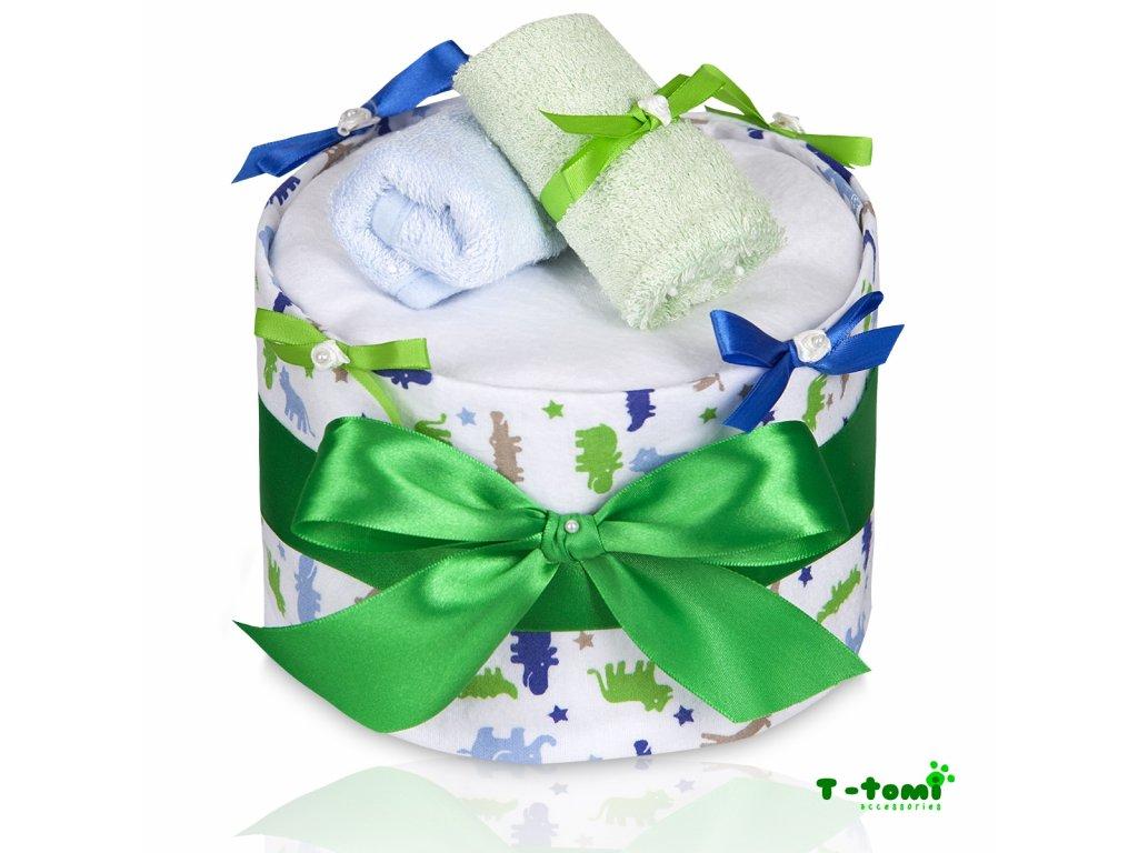 Plenkový dort T-Tomi Eco-Lux Krokodýl-velký