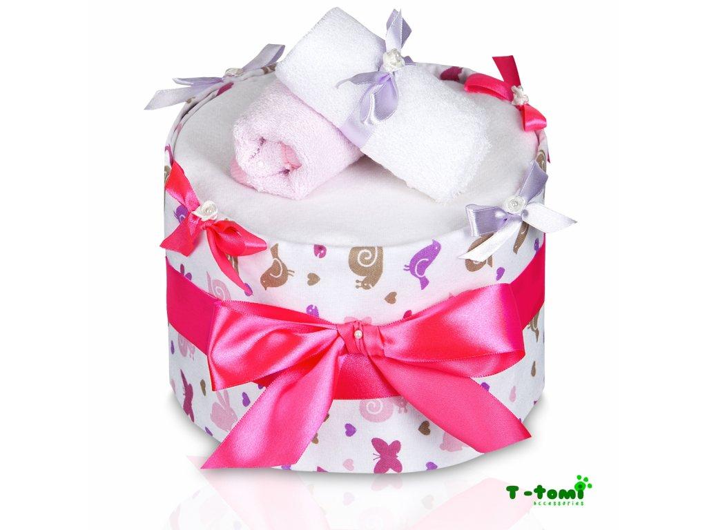 Plenkový dort T-Tomi Eco-Lux Šnek-velký