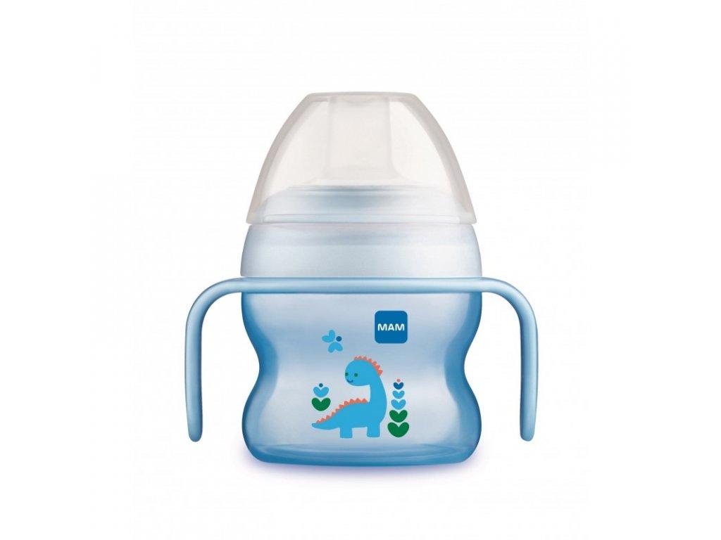 detsky hrnicek mam starter cup 150 ml modra