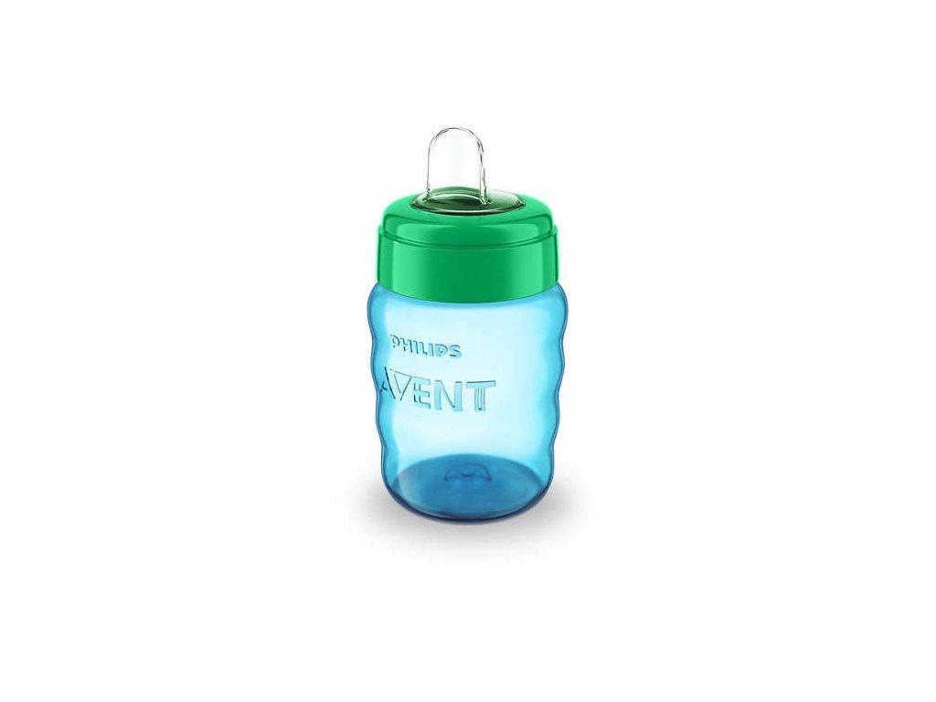 detsky hrnecek philips avent classic pro prvni dousky 260 ml modra