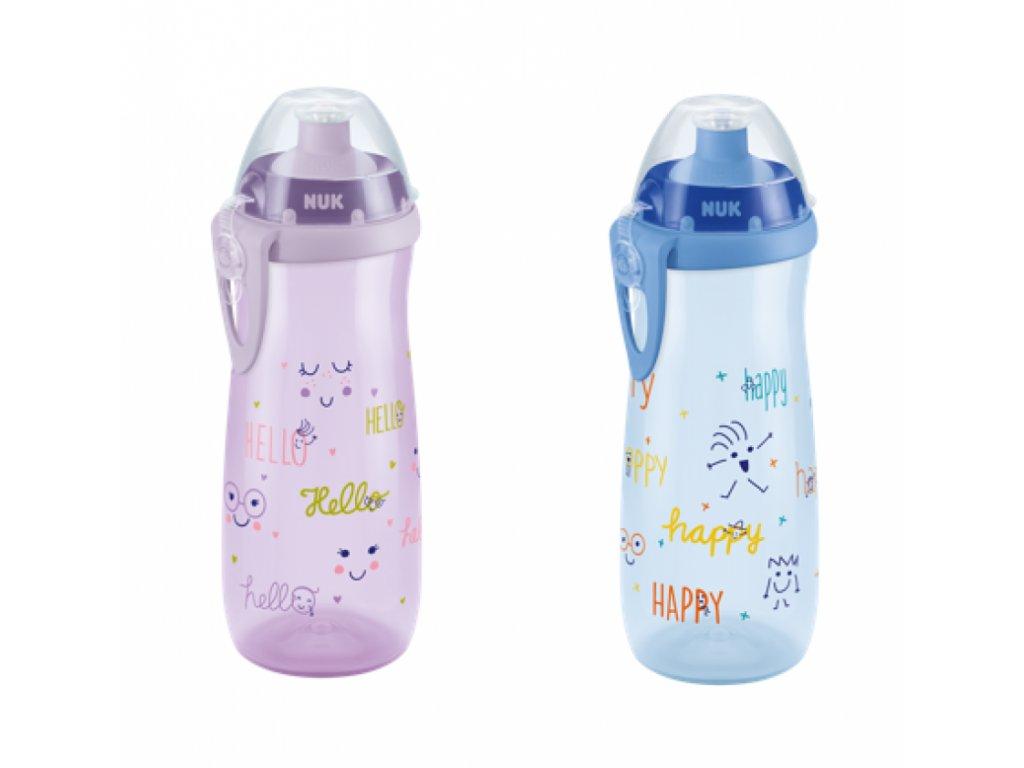detska lahev nuk fc sports cup 18 mesicu 450 ml holka