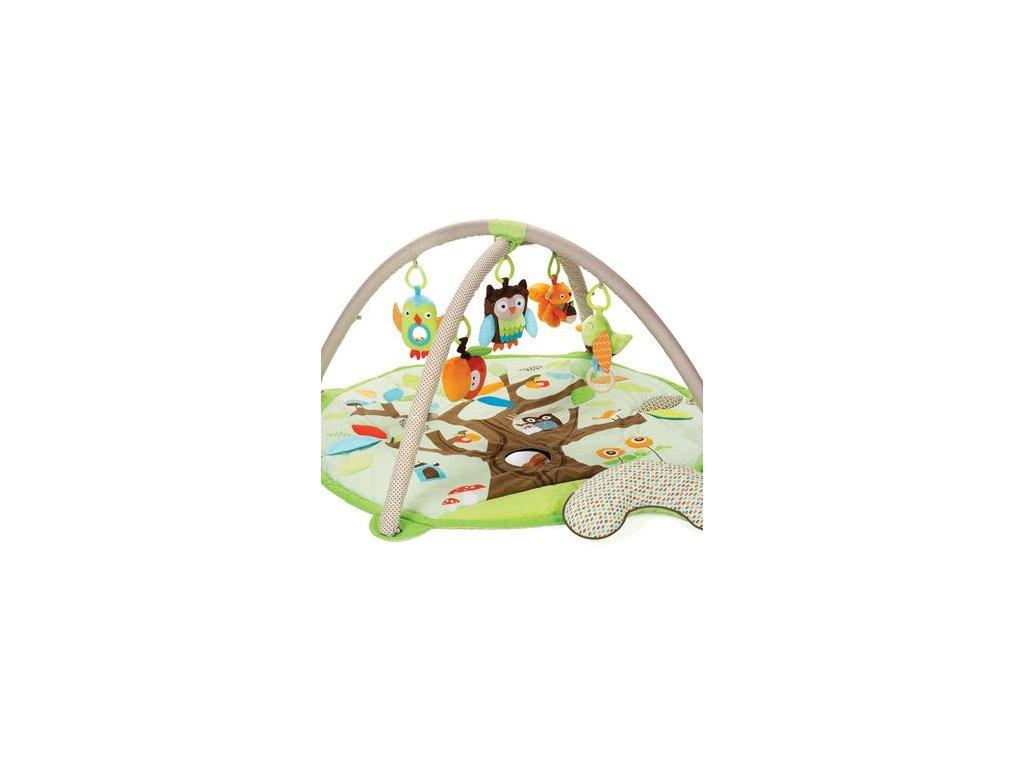 Dětská hrací deka Skip Hop Kamarádi ze stromu s hrazdou