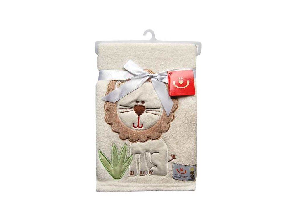 detska deka bobobaby s aplikaci 76 102 cm lev