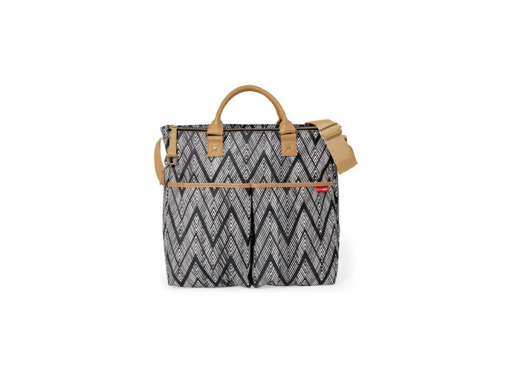 taska na kocarek skip hop duo signature zigzag zebra