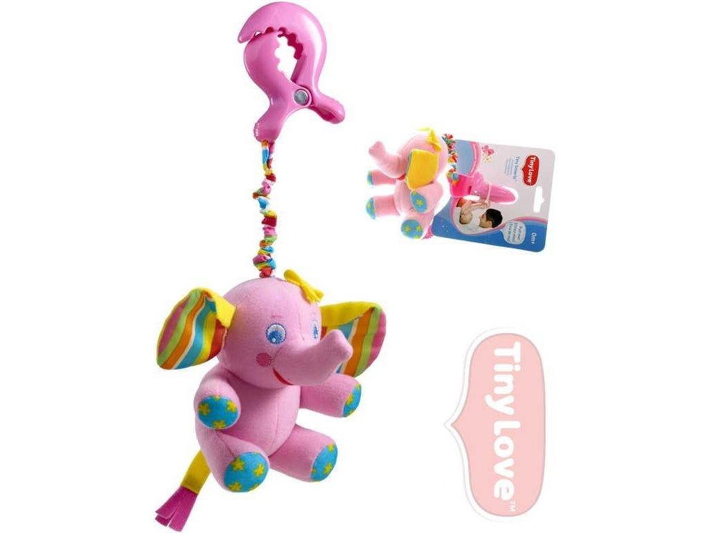 Dětská hračka na kočárek Tiny Love Slůně Elsie