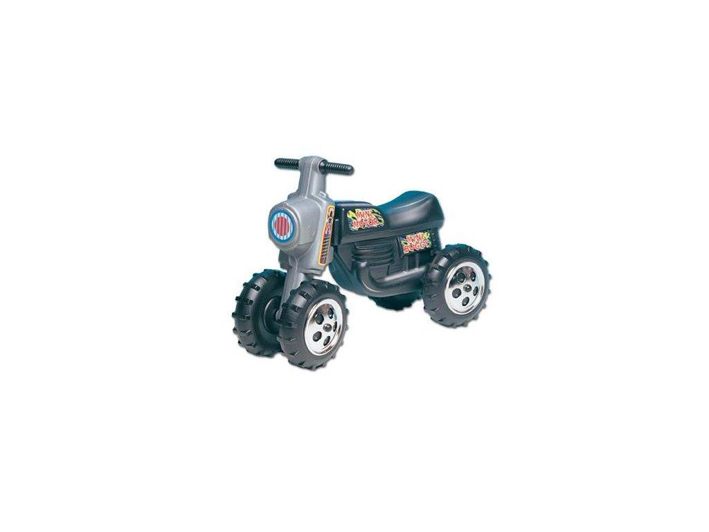Odrážedlo Mini Motor černé