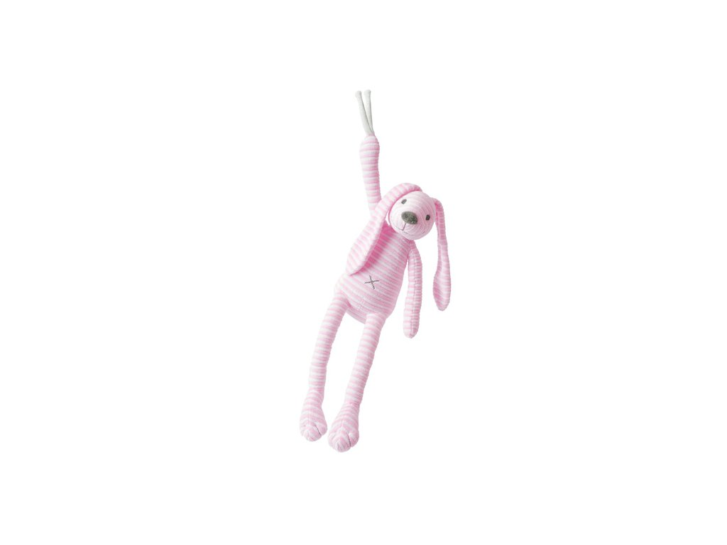 Happy Horse | hudební králíček Reece modrý Velikost: 34 cm