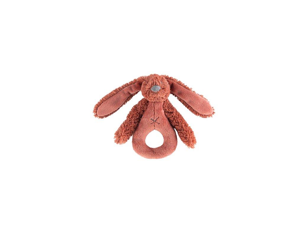 Dětská hračka Happy Horse králíček Richie chrastítko velikost: 18 cm